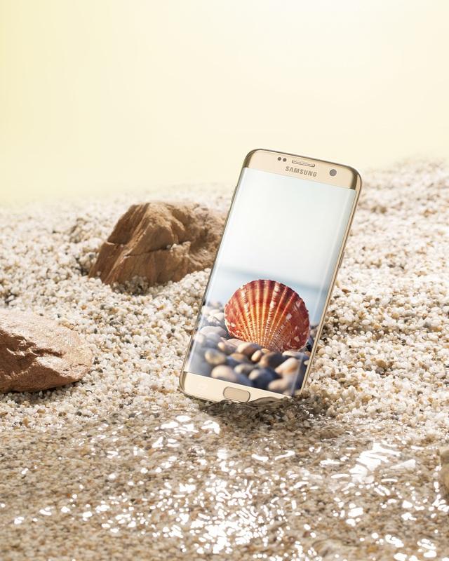 """Bộ tứ Galaxy S7 Edge"""" hóa thân thành báu vật đại dương - Ảnh 2."""