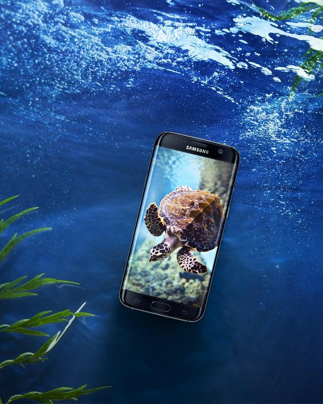 """Bộ tứ Galaxy S7 Edge"""" hóa thân thành báu vật đại dương - Ảnh 4."""