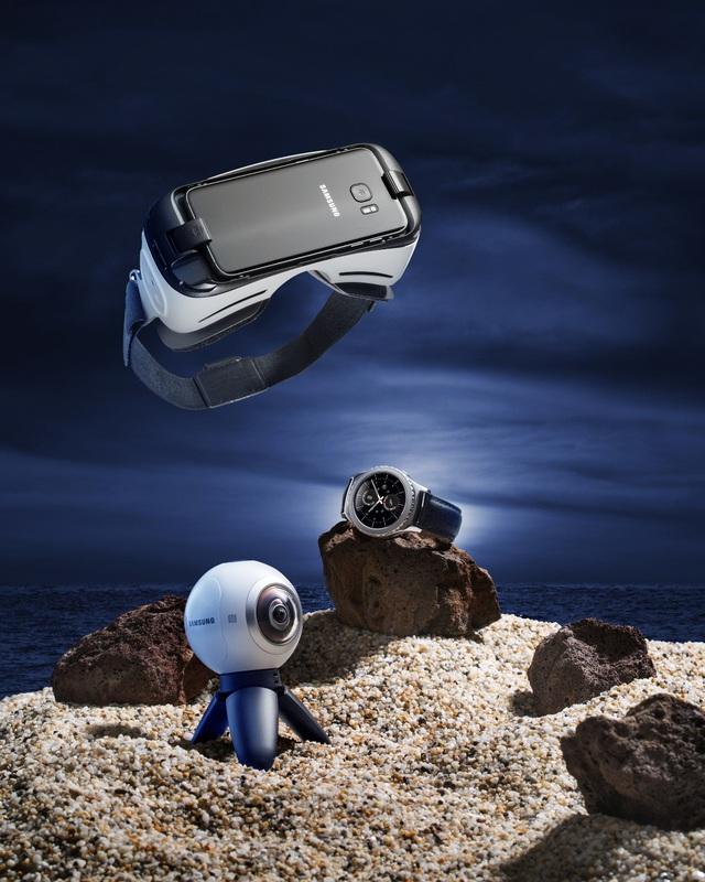 """Bộ tứ Galaxy S7 Edge"""" hóa thân thành báu vật đại dương - Ảnh 5."""