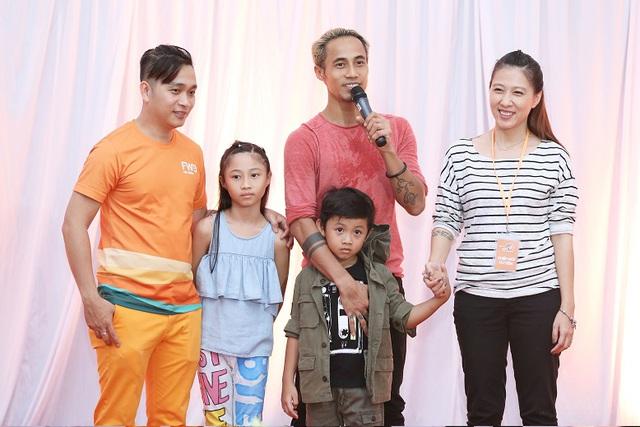 Gia đình sao Việt Phạm Anh Khoa, Hoa hậu Diễm Hương, Diễn viên Trịnh Kim Chi vui cùng ngày hội Con Vươn Xa - Ảnh 6.