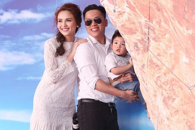 Gia đình sao Việt Phạm Anh Khoa, Hoa hậu Diễm Hương, Diễn viên Trịnh Kim Chi vui cùng ngày hội Con Vươn Xa - Ảnh 7.