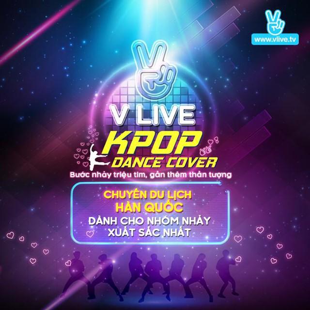 V Live Kpop Dance Cover - Sân chơi mới dành cho fan Kpop - Ảnh 1.