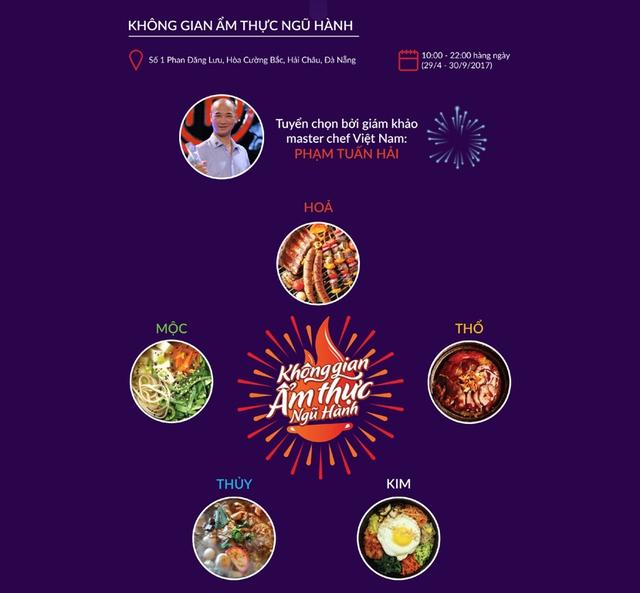 Đà Nẵng khai trương Không gian ẩm thực Ngũ hành tại số 1 Phan Đăng Lưu - Ảnh 8.
