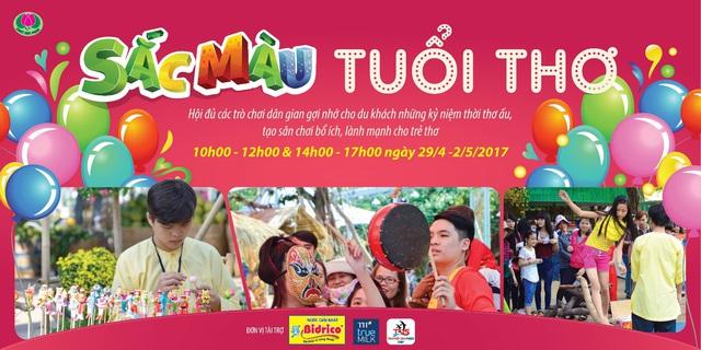 """Lễ hội """"sắc màu năm châu"""" tại Đầm Sen - Sự kiện giải trí """"không đâu chất bằng"""" - Ảnh 3."""