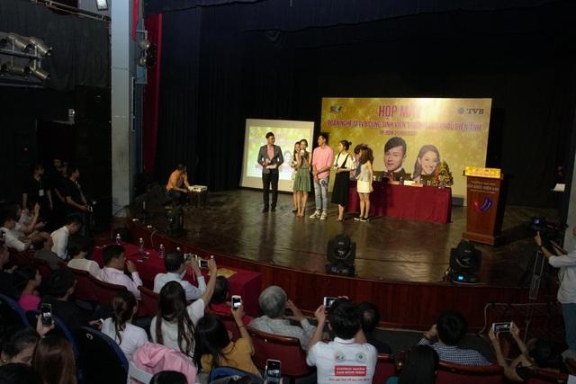 SCTV mời sao khủng TVB giao lưu cùng hàng trăm sinh viên - Ảnh 1.