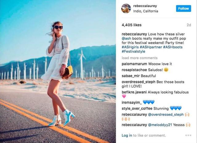 Cận cảnh đôi giày của Selena Gomez tại Coachella 2017 đang khiến dân tình mê tít - Ảnh 8.