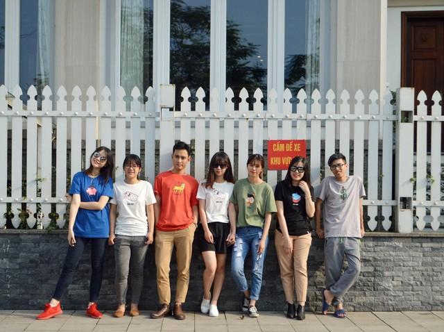 Hot girl ngoại ngữ Khánh Vy, vlogger đanh đá Tun Phạm tạo trend mới cùng áo phông T-Vịt siêu đáng yêu - Ảnh 8.