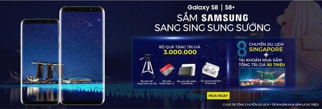 Điểm mặt bộ quà trị giá 3 triệu khi mua Samsung Galaxy S8/S8+ tại Viễn Thông A - Ảnh 4.