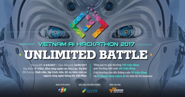 Vietnam AI Hackathon 2017 – Cuộc đua lập trình về trí tuệ nhân tạo lớn nhất Việt Nam - Ảnh 1.