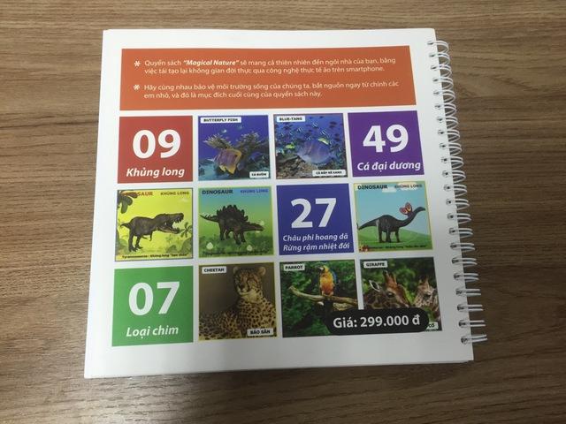 Bé say mê học tiếng Anh với cuốn sách 3D kì thú giá chỉ 99.000Đ - Ảnh 4.