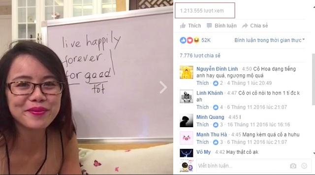 """Bí quyết """"triệu view"""" của cô giáo dạy tiếng Anh qua mạng - Ảnh 1."""