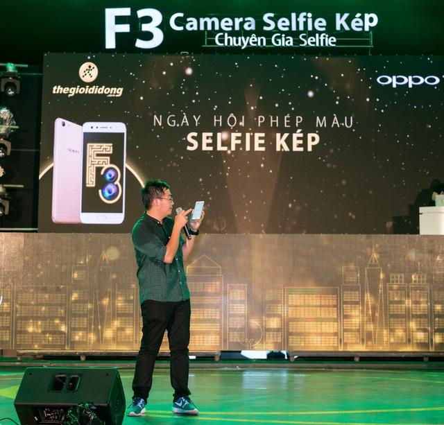 Giới trẻ hào hứng hoà nhịp cùng ngày hội selfie kép với OPPO F3 - Ảnh 9.