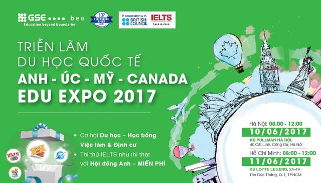 Cơ hội săn học bổng du học khủng tại Edu Expo 2017 - Ảnh 1.