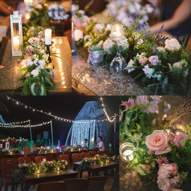 Độc đáo lễ cưới đẹp như mơ trên mỏm đá bên bờ biển Hải Hoà - Ảnh 14.