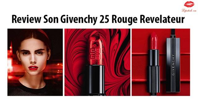 Givenchy 25 Rouge & 01 Le Rouge: Phiên bản giới hạn có 1-0-2 cho tín đồ yêu son đỏ - Ảnh 1.