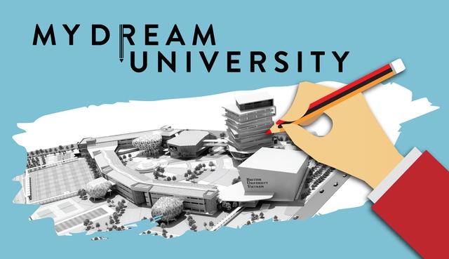 Viết về trường Đại học mơ ước rinh giải thưởng hấp dẫn - Ảnh 1.