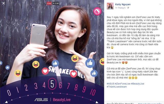 Sau Em chưa 18, Kaity Nguyễn & Will trở thành gương mặt đại diện Asus ZenFone Live - Ảnh 7.