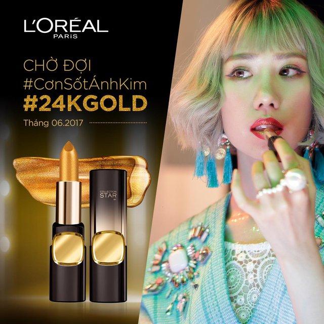 Không chỉ khiến Erik ghen trong MV mới, Min còn khiến phái đẹp phát hờn với thỏi son màu vàng Gold quá độc lạ - Ảnh 11.