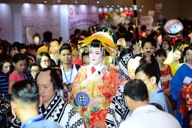 Gặp gỡ Doraemon, Ninja hàng thật tại lễ hội feel Japan in Vietnam 2017 - Ảnh 4.
