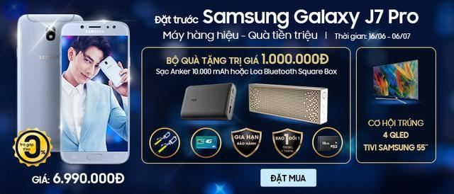 Rinh quà tiền triệu khi tham gia đặt trước Samsung Galaxy J7 Pro tại Viễn Thông A - Ảnh 2.