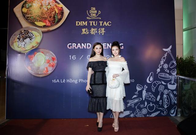 Dàn sao Việt hội ngộ tại buổi khai trương chi nhánh 4 nhà hàng Dim Tu Tac Sài Gòn - Ảnh 2.