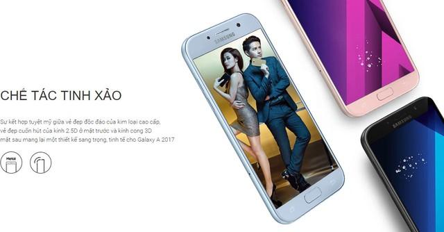 """Galaxy A5 2017 Xanh Pastel lên kệ, biệt đội """"chống nước"""" của Samsung có thêm 1 thành viên - Ảnh 2."""