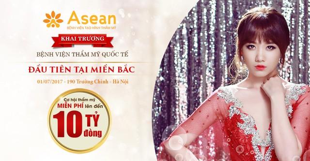 Hari Won trở thành Đại sứ thương hiệu độc quyền của Bệnh viện thẩm mỹ Asean - Ảnh 1.
