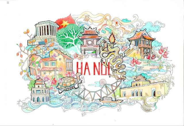 Lại có thêm bộ ảnh vẽ Việt Nam đẹp đến mê mệt - Ảnh 10.