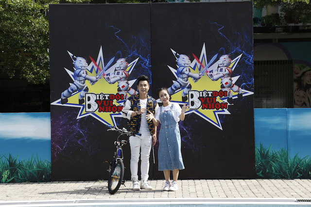 """Ốc Thanh Vân, Nguyên Khang """"tấn công"""" sóng truyền hình với gameshow """"Biệt đội Vui nhộn"""" - Ảnh 1."""