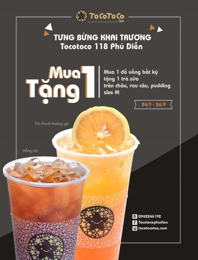TocoToco Phú Diễn (Bắc Từ Liêm, Hà Nội): Chuẩn vị trà sữa xứ Đài - Ảnh 1.