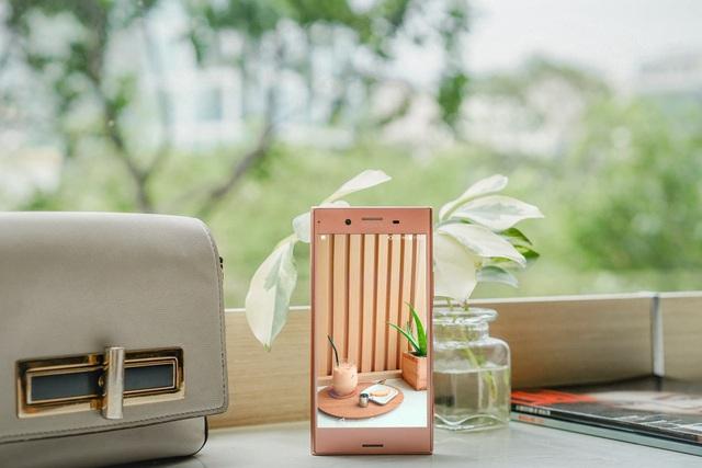 Ngắm vẻ sexy vạn người mê của Xperia XZ Premium Bronze Pink - Ảnh 5.