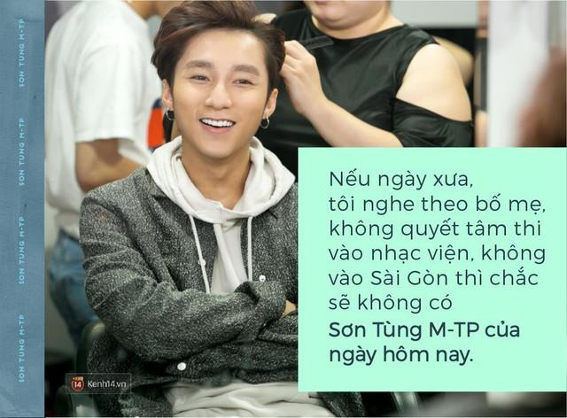 Trên sân khấu, hãy gọi tôi là Sơn Tùng M-TP, ngoài ánh đèn, hãy gọi tôi là Nguyễn Thanh Tùng - Ảnh 1.