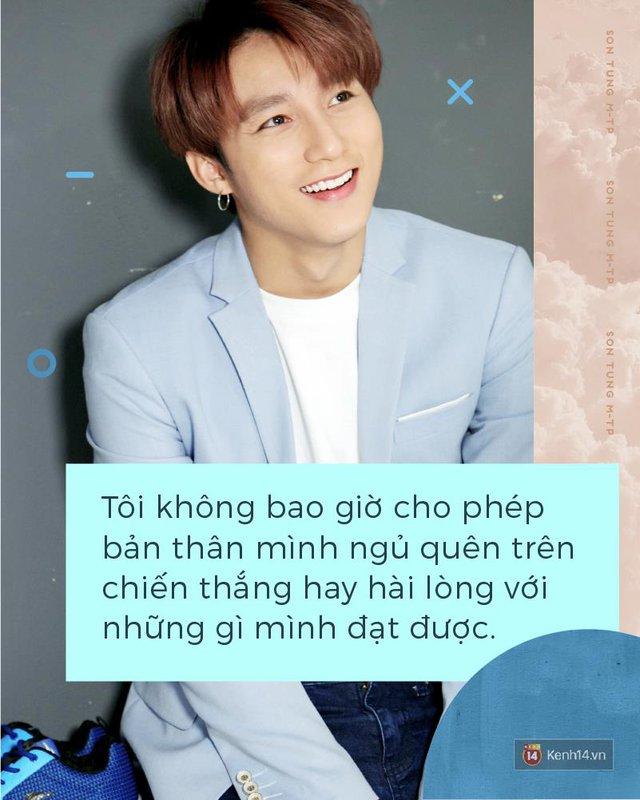 Trên sân khấu, hãy gọi tôi là Sơn Tùng M-TP, ngoài ánh đèn, hãy gọi tôi là Nguyễn Thanh Tùng - Ảnh 3.