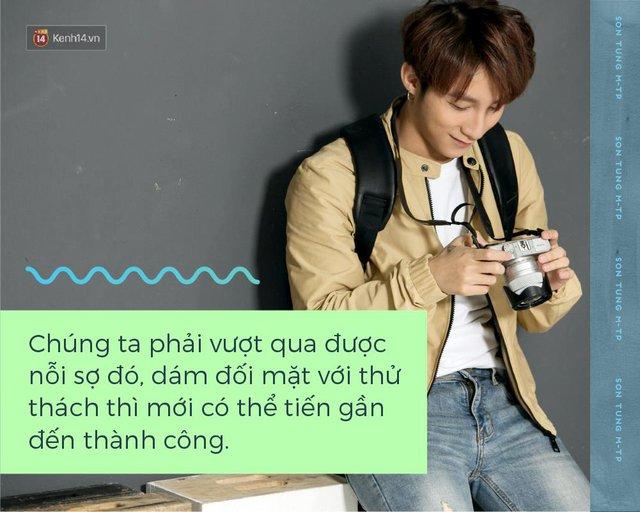 Trên sân khấu, hãy gọi tôi là Sơn Tùng M-TP, ngoài ánh đèn, hãy gọi tôi là Nguyễn Thanh Tùng - Ảnh 4.