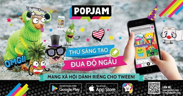 Mạng xã hội dành cho Tween nổi tiếng thế giới cập bến Việt Nam - Ảnh 1.