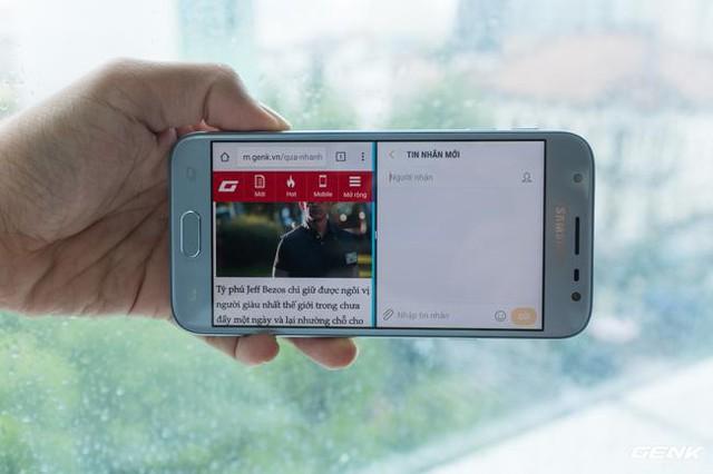 Trên tay Galaxy J3 Pro Xanh Ánh Bạc - Nét sang trọng được phổ cập cho phân khúc giá rẻ - Ảnh 17.