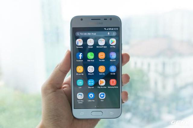 Trên tay Galaxy J3 Pro Xanh Ánh Bạc - Nét sang trọng được phổ cập cho phân khúc giá rẻ - Ảnh 22.