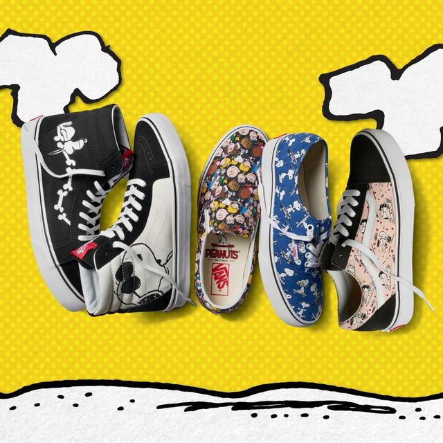 """Vans """"thổi hồn"""" truyện tranh Peanuts vào BST giày mới - Ảnh 2."""