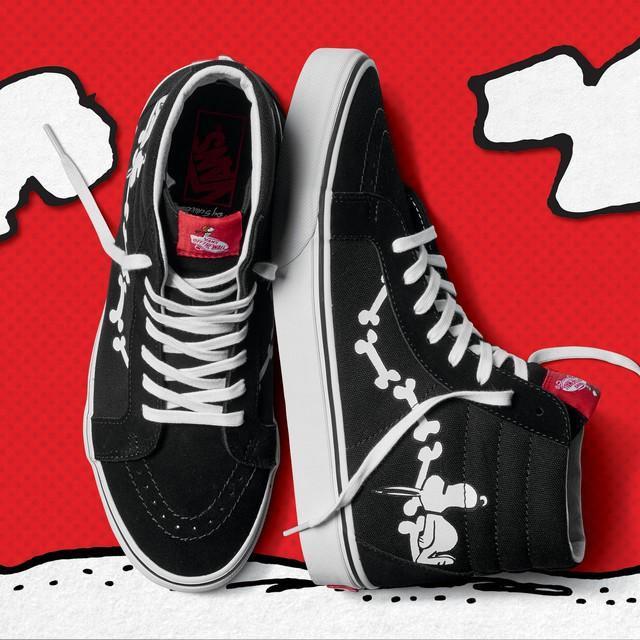 """Vans """"thổi hồn"""" truyện tranh Peanuts vào BST giày mới - Ảnh 5."""