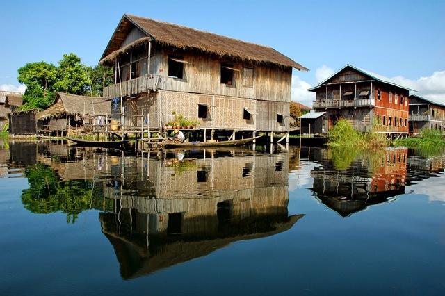 Trải nghiệm cuộc sống yên bình bên Hồ Inle - Đến một lần chẳng muốn rời xa - Ảnh 4.