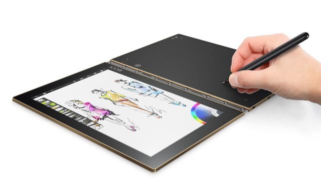 Nhận quà liền tay, lựa ngay Yoga Book màu GOLD tuyệt đẹp - Ảnh 1.