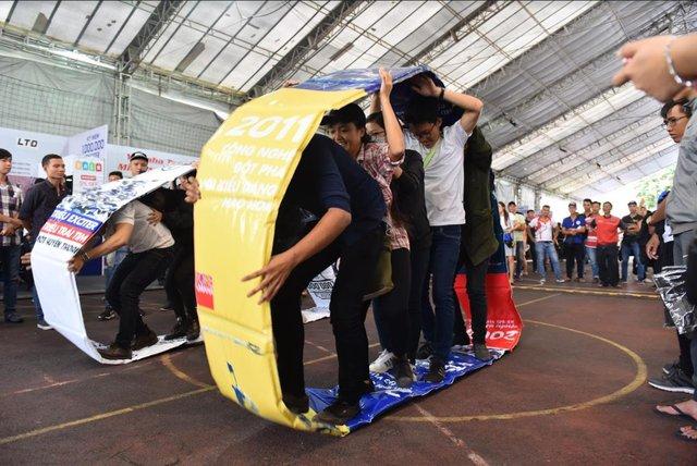 Thái Bình và Phan Thiết dậy sóng với sự kiện kỷ niệm 1 triệu xe Exciter hoành tráng - Ảnh 7.