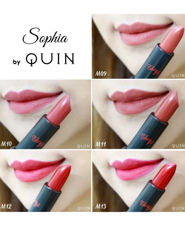 """Review thỏi son huyền thoại """"Sophia Ampoule Matte Lipstick Limited"""" - Ảnh 5."""