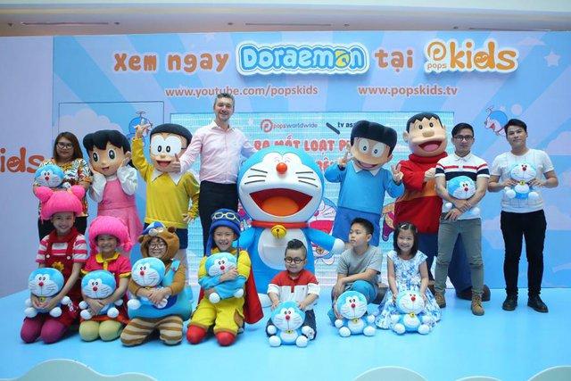 Phim hoạt hình Doraemon lần đầu được cấp bản quyền phát hành trên YouTube - Ảnh 1.