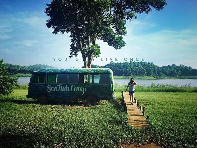 Sơn Tinh Camp - Điểm du lịch gần Hà Nội giúp bạn làm mới bản thân - Ảnh 1.