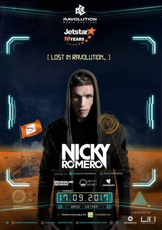 Nicky Romero, Alan Walker, Makj sẽ cùng biểu diễn trong Ravolution Music Festival by Jetstar - Ảnh 2.