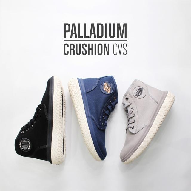 Palladium ra mắt dòng Crushion CVS với nhiều cải tiến vượt trội - Ảnh 1.