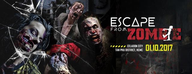 Escape From Zombie: Cuộc chạy đua sống còn với Zombie đầu tiên tại Việt Nam - Ảnh 1.