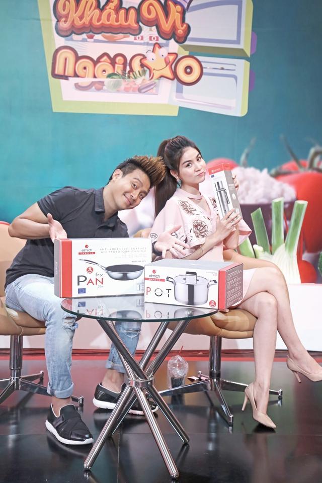 """Thanh Duy, Kha Ly vạch mặt"""" sở thích ăn uống của nhau trên sóng truyền hình - Ảnh 3."""