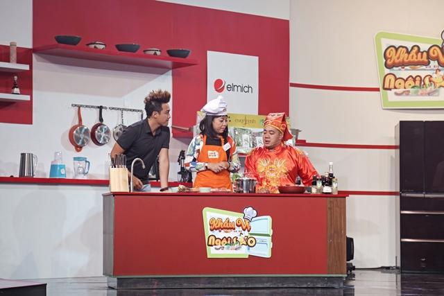 """Thanh Duy, Kha Ly vạch mặt"""" sở thích ăn uống của nhau trên sóng truyền hình - Ảnh 7."""